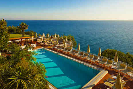 Hotel Le Querce Terme & Spa - Four Star Panoramic Views over the Gulf of Naples For Two - Save 68%