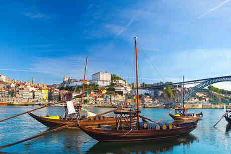 Crowne Plaza Porto - Five Star Cultural Break with Wine Tasting Experience For Two - Save 44%