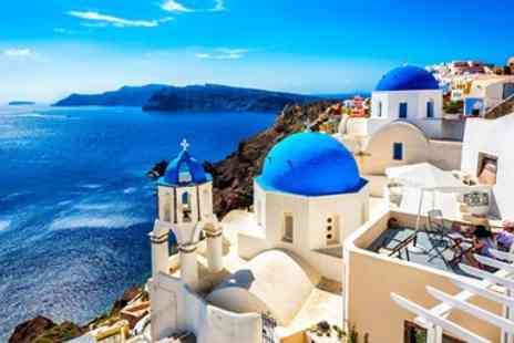 Flights and Packages - Nine night Crete, Santorini & Mykonos holiday with flights & ferry - Save 0%