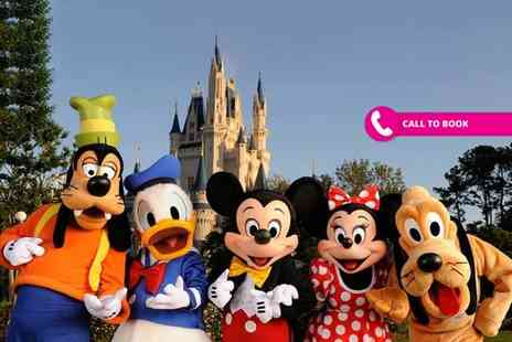 Super Escapes Travel - Two night Disneyland Paris stay with park entry on one day and return flights - Save 39%