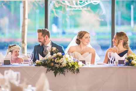 Copthorne Hotel Newcastle - Complete wedding package for 40 daytime and 80 evening guests with food, drinks, entertainment, venues and more - Save 50%