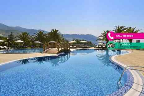 Super Escapes Travel - Four or seven night all inclusive stay with return flights - Save 32%