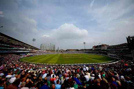 SuperBreak - One or two night stay with breakfast and an England Vs India cricket match ticket with a stadium tour of The Oval and pre match gift - Save 0%