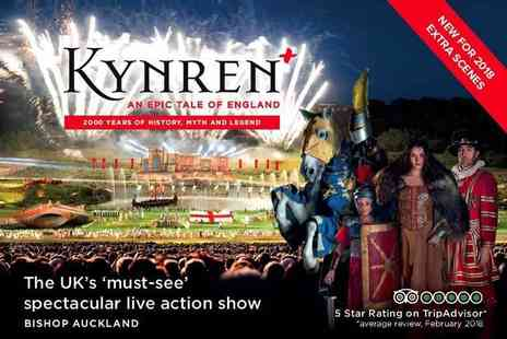 Kynren - Child, young adult or adult ticket to the Kynren outdoor live action show - Save 6%