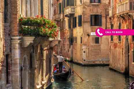 Super Escapes Travel - Two or three night 4 Star Venice stay with breakfast and flights - Save 31%