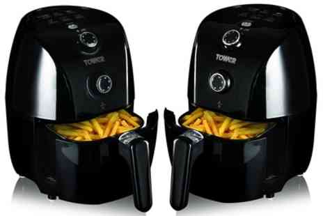 Groupon Goods Global GmbH - Tower T17025 Compact Air Fryer - Save 45%