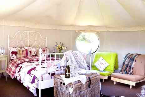 Humble Bee Farm -  Two or Four Nights Stay for Up to Four with Optional Fairy Lights or Burner Pack - Save 38%