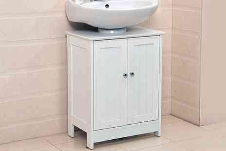 Groupon Goods Global GmbH - Undersink Bathroom Cabinet - Save 42%