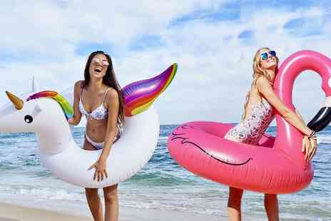 Groupon Goods Global GmbH - One or Two 36 Inch Inflatable Swim Rings - Save 72%