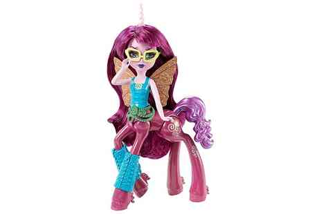 Groupon Goods Global GmbH - Monster High Fright Mare Penepole Steamtail Figure  - Save 68%