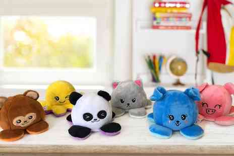 Groupon Goods Global GmbH - One, Two, Three or Four Assorted Reversible Plushes - Save 50%
