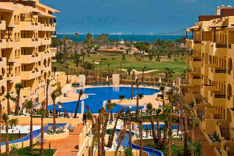 Senator Mar Menor Golf & Spa Resort - Four Star Overlooking Mar Menor Lagoon Stay For Two - Save 52%