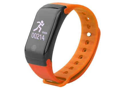 Black Sheep - H10 Fitness Tracker Available in 3 Colours - Save 78%