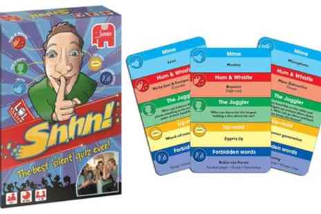 Groupon Goods Global GmbH - Jumbo Shhh Quiz Card Game - Save 0%