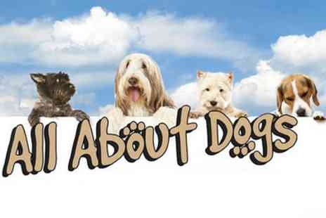 All About Dogs - Ticket to All About Dogs Festival on 1 and 2 April - Save 46%