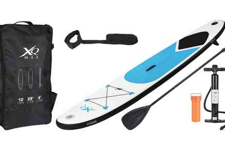 Groupon Goods Global GmbH - XQ Max Paddle Board in Choice of Colour With Free Delivery - Save 0%