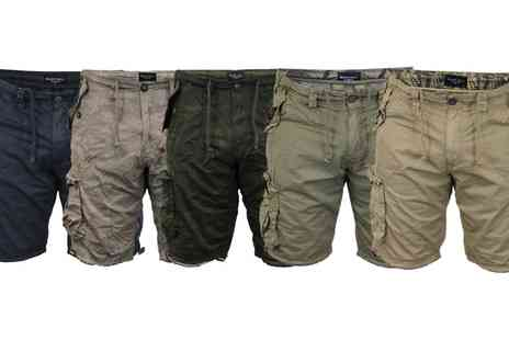 Groupon Goods Global GmbH - Brave Soul Mens Combat Cargo Shorts - Save 0%