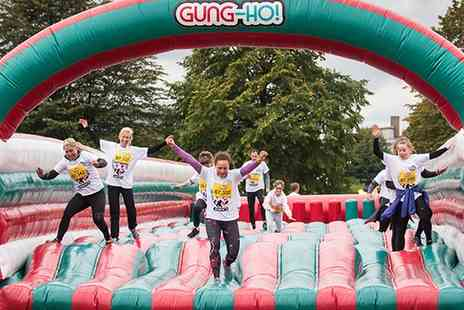 Be Gung Ho - 5K Inflatable Obstacle Course Entry with Racepack - Save 23%