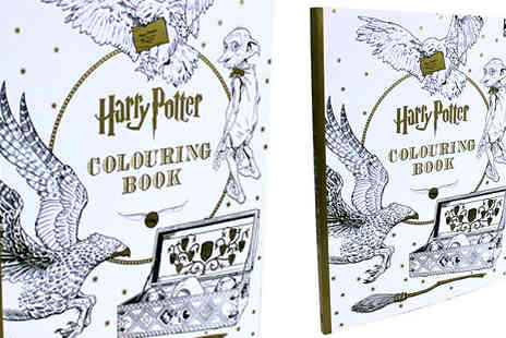 Bangzo - Harry Potter Colouring Books Choose 4 Designs - Save 0%