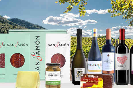 SanJamon - Tormes Spanish Food And Wine Hamper - Save 42%