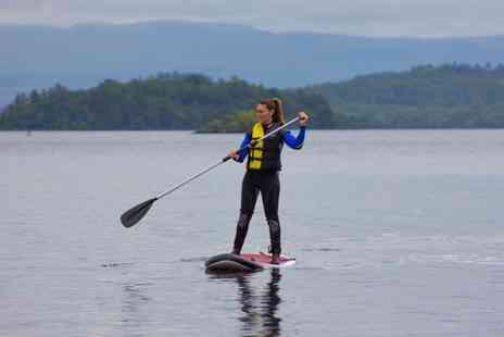 Loch Lomond Leisure Scotland - Paddleboard, twin or triple kayak or canoe experience - Save 50%