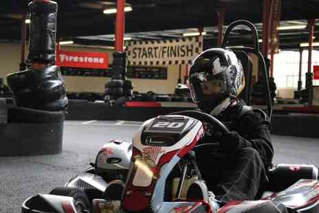 TeamKarting - 20 or 40 minute go karting experience with up to 50 laps with up to 100 laps at TeamKarting, Rochdale - save up to 40% - Save 40%
