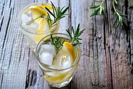 Liquor and All Sorts - Two hour gin tasting experience for one including cakes and sandwiches - Save 24%