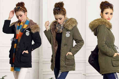 Bluebell Retail - Ladies parka coat choose from five colours - Save 0%