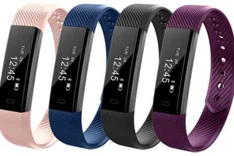 Groupon Goods Global GmbH - One or Two Aquarius AQFW02 Touch Screen Fitness Trackers - Save 60%