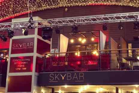 Skybar - Two Course Meal for Two or Four - Save 56%