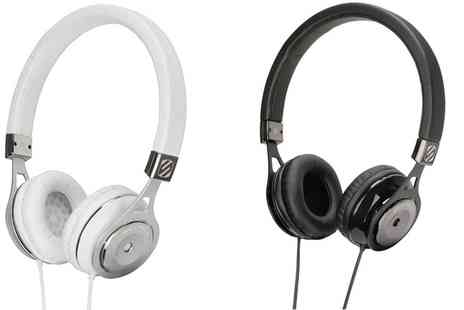 Groupon Goods Global GmbH - Black or White Scosche On Ear Headphones - Save 0%