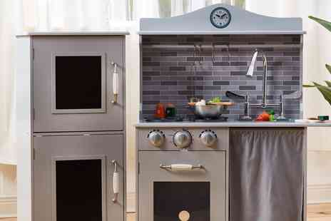 Groupon Goods Global GmbH - Teamson Sunday Brunch Kids Farmhouse Kitchen With Free Delivery - Save 0%