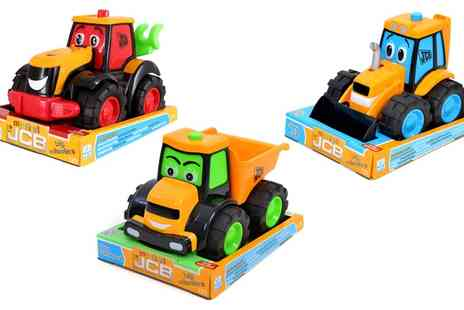 Groupon Goods Global GmbH - My First JCB Big Wheeler Three Pack - Save 0%