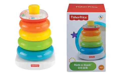 Groupon Goods Global GmbH - Fisher Price Rock a Stack Activity Toy - Save 0%