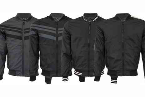 Groupon Goods Global GmbH - Mens Lightweight Brave Soul Baseball Jackets - Save 0%