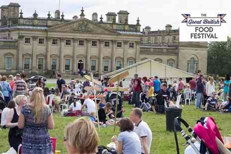 The Great British Food Festival - One Day Entry for Two Adults to The Great British Food Festival on 26 to 28 May - Save 0%