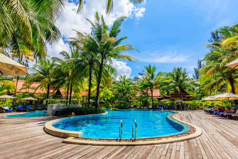 Khaolak Bhandari Resort & Spa - Four Star Relaxed Island Escape For Two with Optional Phuket Stopover - Save 61%