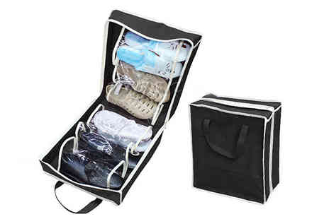 Affinity International - Travel Shoe Organiser Choose 2 Colours - Save 65%