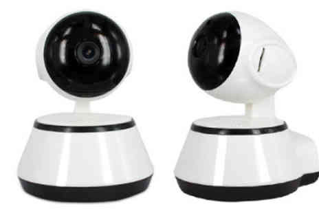 Goods Direct - 360° Rotate & Tilt Smart HD Baby & Pet Monitor - Save 68%