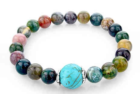 Trendy Banana - Natural Stone Rio Bracelet - Save 82%