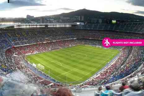 World Choice Sports - Two or three night Barcelona break including a match ticket to see FC Barcelona - Save 0%