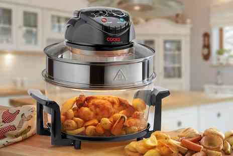 Groupon Goods Global GmbH - Cooks Professional Halogen Oven or Air Fryer with 12 Accessories - Save 0%