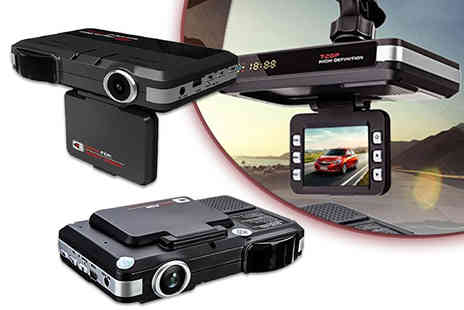 Gilded Olive - Speed detecting car dash cam or dashcam with 8GB SD card - Save 78%