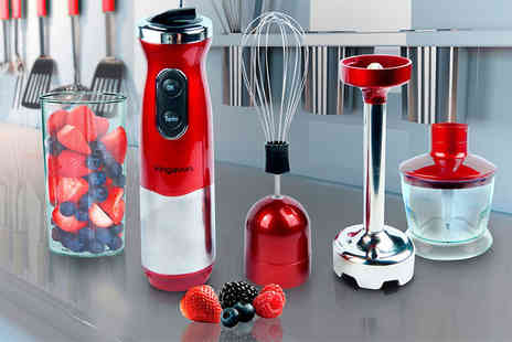Hyfive - Four in one electric hand blender - Save 52%