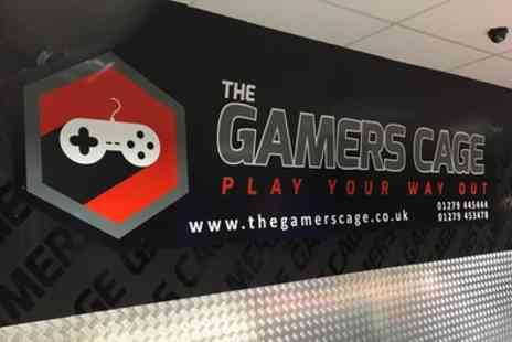 The Gamers Cage - Gamers Birthday Party Package for Up to 12 or 16 Guests - Save 55%