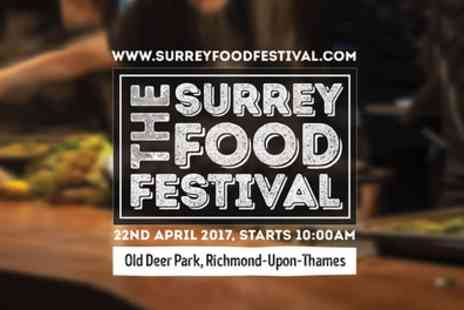 All in One Events - General admission ticket to Surrey Food Festival on 21 April - Save 29%