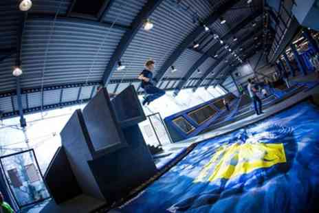 Adrenalin Leisure - One or Two Hour Jump Session for Up to Four - Save 15%