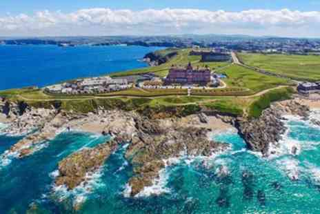 The Headland Hotel - Two night Newquay escape with dinner - Save 41%