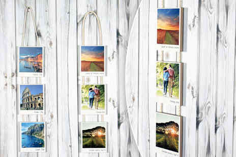 Your Perfect Canvas - Three piece wooden hanging retro print - Save 77%