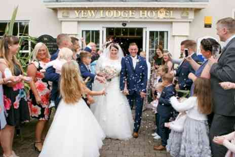 Yew Lodge Hotel - Wedding Package for 50 Daytime Guests and 100 Evening Guests - Save 65%